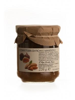 Figų džemas su migdolais 220gr
