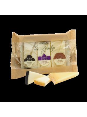 Trijų pecorino sūrių...