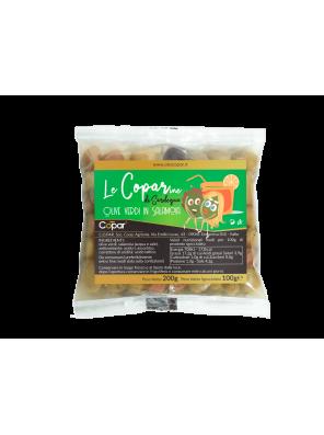 Žalios alyvuogės sūrime 100gr